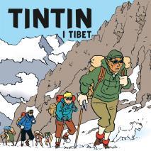 Cover for Tintin i Tibet
