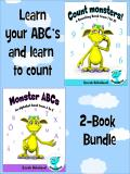Omslagsbild för Learn your ABC's and learn to count - 2-Book Bundle