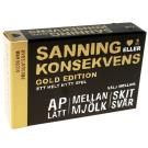 Cover for Sanning eller konsekvens GULD