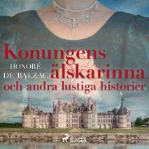 Cover for Konungens älskarinna och andra lustiga historier