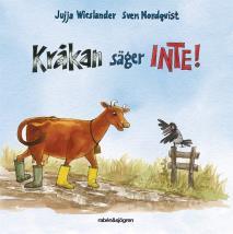 Omslagsbild för Kråkan säger INTE!