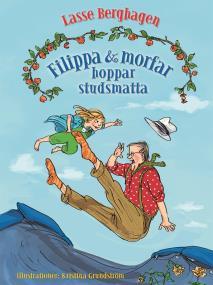 Cover for Filippa & morfar hoppar studsmatta