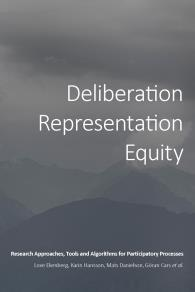 Omslagsbild för Deliberation, Representation, Equity: Research Approaches, Tools and Algorithms for Participatory Processes