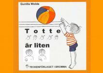 Cover for Totte är liten andra upplagan med tecken