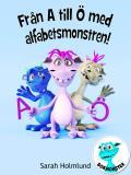 Omslagsbild för Från A till Ö med alfabetsmonstren!