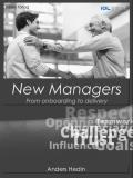 Omslagsbild för New Managers; From onboarding to delivery