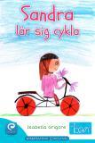 Cover for Sandra lär sig cykla