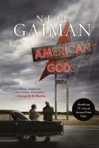 Omslagsbild för American Gods (svensk utgåva)