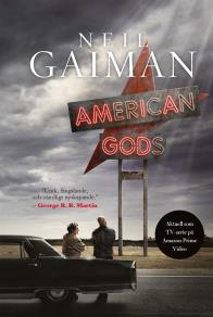 Cover for American Gods (svensk utgåva)