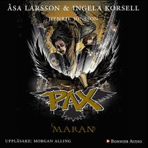 Cover for PAX. Maran