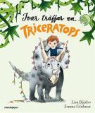 Omslagsbild för Ivar träffar en triceratops