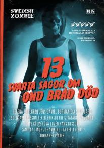 Omslagsbild för 13 svarta sagor om ond bråd död