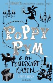 Omslagsbild för Poppy Pym och den förhäxade pjäsen