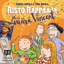 Cover for Risto Räppääjä ja väärä Vincent