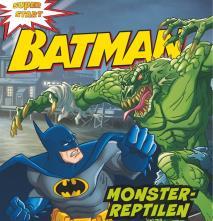 Cover for Batman. Monster-reptilen
