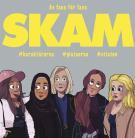 Omslagsbild för Skam : karaktärerna, platserna, citaten