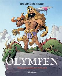 Cover for Olympen : Sagor ur den grekiska mytologin