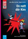 Cover for En natt dör Kim - DigiLäs Lätt A
