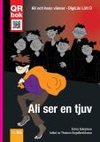 Cover for Ali ser en tjuv - DigiLäs Lätt D
