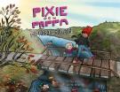 Omslagsbild för Pixie och Pappa - På höstpromenad