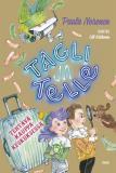 Omslagsbild för Tagli ja Telle. Tehtävä kauppakeskuksessa