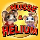 Bokomslag för Musse & Helium – Jakten på Guldosten