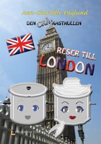 Cover for Den grå kastrullen reser till London