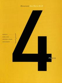 Omslagsbild för 4 påhitt : styckevis, skilda stilar, ordentligt ordnade med marginal