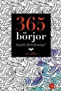 Omslagsbild för 365 börjor – hejdå skrivkramp!