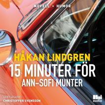 Omslagsbild för Femton minuter för Ann-Sofi Munter
