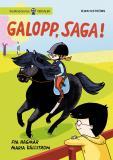 Omslagsbild för Saga och Max 3 - Galopp, Saga!