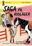 Cover for Saga och Max 6 - Saga på ridläger