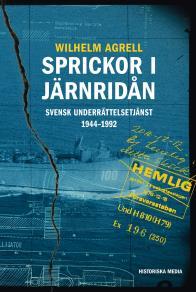 Omslagsbild för Sprickor i järnridån. Svensk underrättelsetjänst 1944–1992