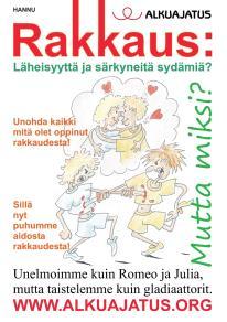 Omslagsbild för Rakkaus: Läheisyyttä ja särkyneitä sydämiä?