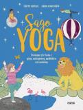 Bokomslag för Sagoyoga : övningar för barn i yoga, andning, avslappning och meditation