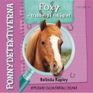 Omslagsbild för Ponnydetektiverna. Foxy - Trubbel på ridlägret