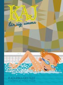 Omslagsbild för Kaj lär sig simma