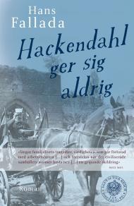 Omslagsbild för Hackendahl ger sig aldrig