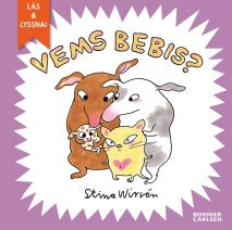 Cover for Vems bebis? (e-bok + ljud)