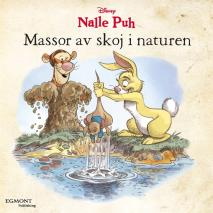 Omslagsbild för Nalle Puh - Massor av skoj i naturen