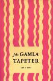 Omslagsbild för Jek: GAMLA TAPETER