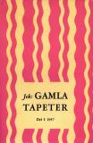 Cover for Jek: GAMLA TAPETER