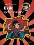 Omslagsbild för Erik spelar trummor