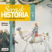 Cover for Svensk historia, del 1
