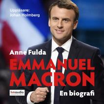 Omslagsbild för Emmanuel Macron. En biografi