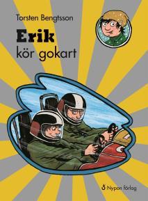 Omslagsbild för Erik kör gokart