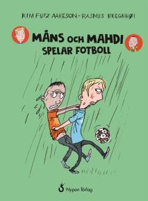 Omslagsbild för Måns och Mahdi spelar fotboll