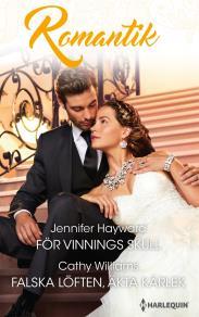 Cover for För vinnings skull/Falska löften, äkta kärlek