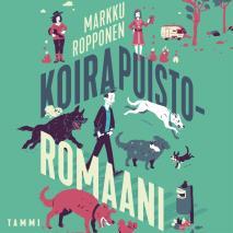 Cover for Koirapuistoromaani