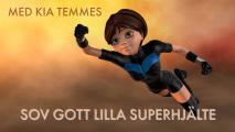 Omslagsbild för Sov gott lilla superhjälte-guidad godnattsaga och meditation för barn